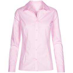 Vêtements Femme Chemises / Chemisiers Promodoro Chemise Oxford Manches Longues Femmes rose