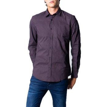 Vêtements Homme Chemises manches longues Antony Morato MMSL00610-FA430439 Noir