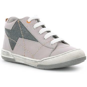 Chaussures Garçon Baskets montantes Mod'8 Zlat GRIS