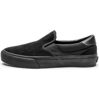 Chaussures Homme Chaussures de Skate Straye VENTURA black black suede Noir