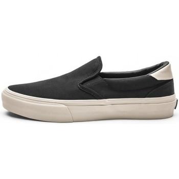 Chaussures Homme Chaussures de Skate Straye VENTURA black bone canvas Noir