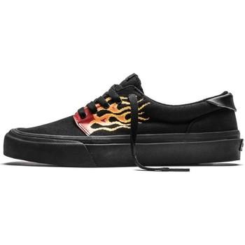 Chaussures Homme Chaussures de Skate Straye FAIRFAX pixel flame black Noir