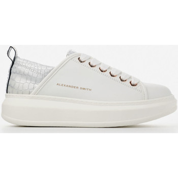 Chaussures Femme Baskets basses Alexander Smith WEMBLEY bianco-argento