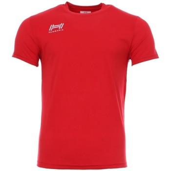 Vêtements Homme T-shirts manches courtes Hungaria H-15TOUYB000 Rouge