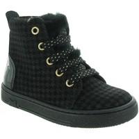 Chaussures Fille Baskets montantes Bellamy LEVI Noir