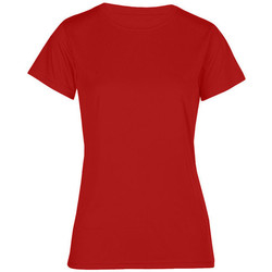 Vêtements Femme T-shirts manches courtes Promodoro T-shirt UV-Performance Femmes rouge feu