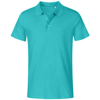 Vêtements Homme Polos manches courtes Promodoro Polo Jersey grandes tailles Hommes vert jade