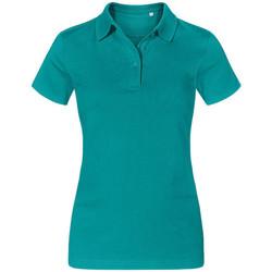 Vêtements Femme Polos manches courtes Promodoro Polo Jersey Femmes vert jade