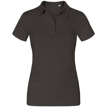 Vêtements Femme Polos manches courtes Promodoro Polo Jersey Femmes gris charbon