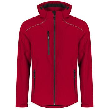 Vêtements Homme Blousons Promodoro Veste Softshell grandes tailles Hommes rouge feu