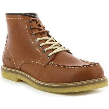 Chaussures Homme Boots Kickers Horuzy MARRON