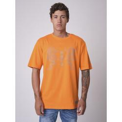 Vêtements Homme T-shirts manches courtes Project X Paris Tee Shirt Orange