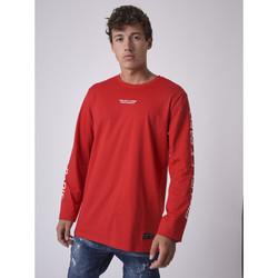 Vêtements Homme T-shirts manches longues Project X Paris Tee Shirt Rouge
