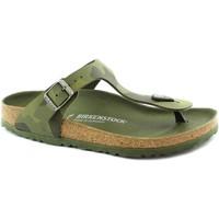 Chaussures Fille Tongs Birkenstock BIR-RRR-1015597-GR Verde
