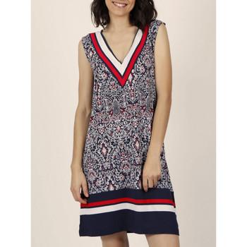 Vêtements Femme Robes Admas Robe estivale sans manches Navy Style Bleu Marine