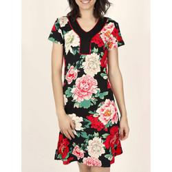 Vêtements Femme Robes Admas Robe estivale manches courtes Nightflowers Imprimé