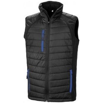 Vêtements Homme Gilets / Cardigans Result R238X Noir / bleu roi