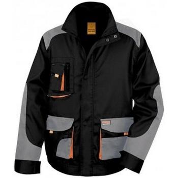 Vêtements Homme Vestes Result RS316 Noir / gris