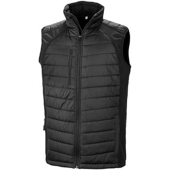 Vêtements Homme Doudounes Result R238X Noir / Noir