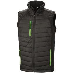 Vêtements Homme Doudounes Result R238X Noir / vert