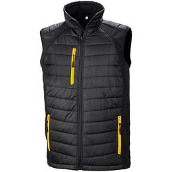 Vêtements Homme Vestes Result R238X Noir / jaune