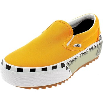 Chaussures Fille Slip ons Vans CLASSIC SLIP-ON S ARANCIONI Orange