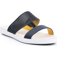 Chaussures Femme Mules Lacoste Natoy Slide 7-31CAW0133326 granatowy