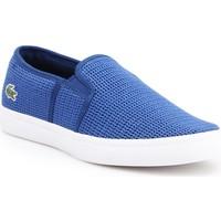 Chaussures Femme Slip ons Lacoste Gazon 7-33CAW1074125 niebieski
