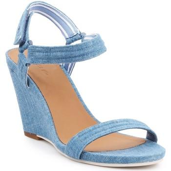 Chaussures Femme Sandales et Nu-pieds Lacoste Karoly 7-29SRW2314125 niebieski