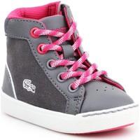 Chaussures Enfant Baskets montantes Lacoste Explorateur 7-32CAI1001248 szary