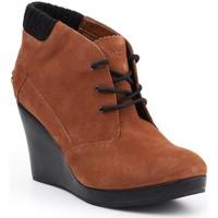 Chaussures Femme Low boots Lacoste Leren 7-26SRW4204013 brązowy