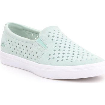 Chaussures Femme Slip ons Lacoste Gazon 7-31CAW01342K8 miętowy