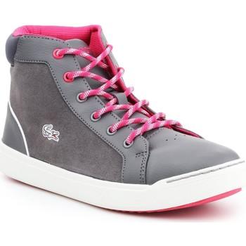 Chaussures Femme Baskets montantes Lacoste Explorateur MID 7-32CAJ1001248 szary, różowy