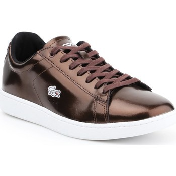 Chaussures Femme Baskets basses Lacoste Carnaby Evo 7-30SPW4110DB2 brązowy