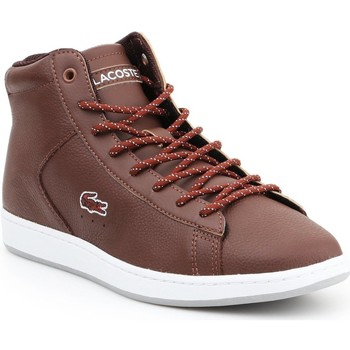 Chaussures Femme Baskets montantes Lacoste Carnaby EVO 7-30SPW411377T brązowy