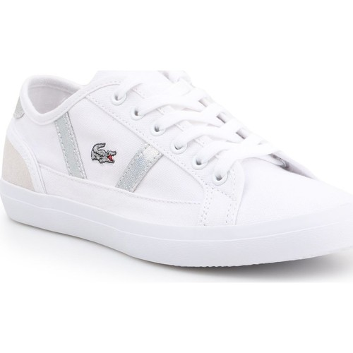 Chaussures Femme Baskets basses Lacoste Sideline 7-37CFA004321G biały