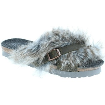 Chaussures Femme Chaussons Amoa Chaussons Interieur SPRO à enfiler MAP GREY