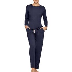 Vêtements Femme Pyjamas / Chemises de nuit Impetus Travel Woman Travel bleu Bleu