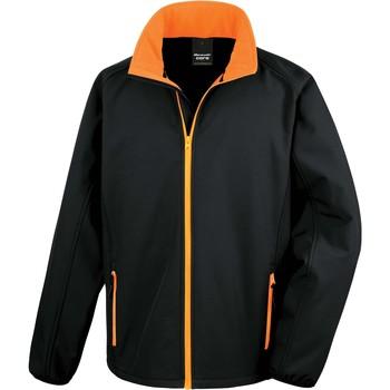 Vêtements Homme Vous avez oublié votre mot de passe ? Cliquez ici Result Veste  Softshell Printable noir/noir