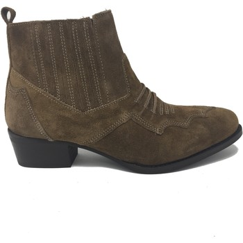 Chaussures Femme Bottines Sms CHAUSSURE  SELENA Camel