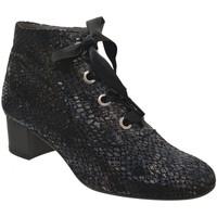 Chaussures Femme Bottines Folies Mahe Gris metal cuir