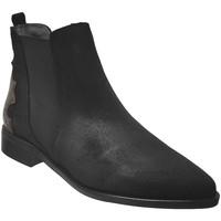 Chaussures Femme Bottines Folies Impac Noir velours