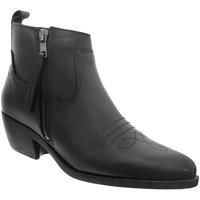 Chaussures Femme Bottines Goodstep 1511 Noir cuir