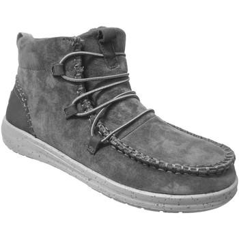 Chaussures Femme Boots Dude Eloise Gris foncé
