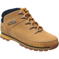 Chaussures Homme Boots Timberland Euro sprint mid hiker jaune velours