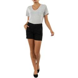 Vêtements Femme Shorts / Bermudas Freeman T.Porter malena 12 black noir