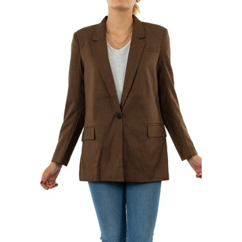 Vêtements Femme Vestes / Blazers Only gloss-adah toasted coconut marron