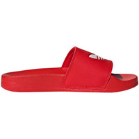 Chaussures Garçon Chaussures aquatiques adidas Originals - Adilette lite j rosso/bco FU9179 ROSSO