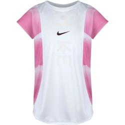 Vêtements Garçon T-shirts & Polos Nike - T-shirt bianco 36G370-001 BIANCO