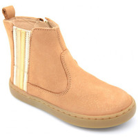 Chaussures Fille Boots Shoo Pom play stripes Marron